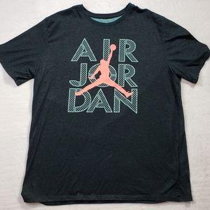 Air Jordan Retro NBA Graphic Tshirt Mens Size XL